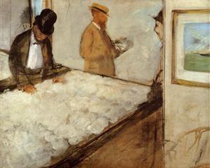 Cotton Merchants in New Orleans - Edgar Degas