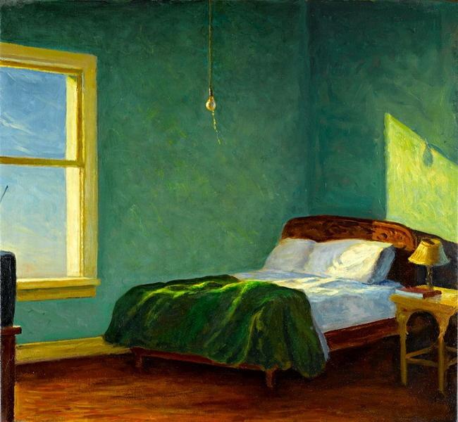Good Artful Interiors ◇ Paintings Of Beautiful Rooms   Mark Beck