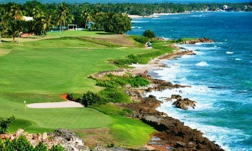Some of the best golf courses in the Caribbean are here This is Casa de Campo Dominican Republic