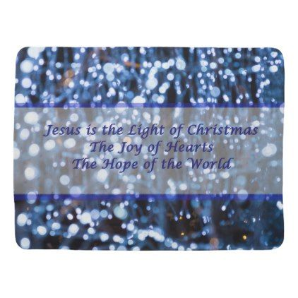 abstract of blue lights text receiving blanket photography gifts and photography