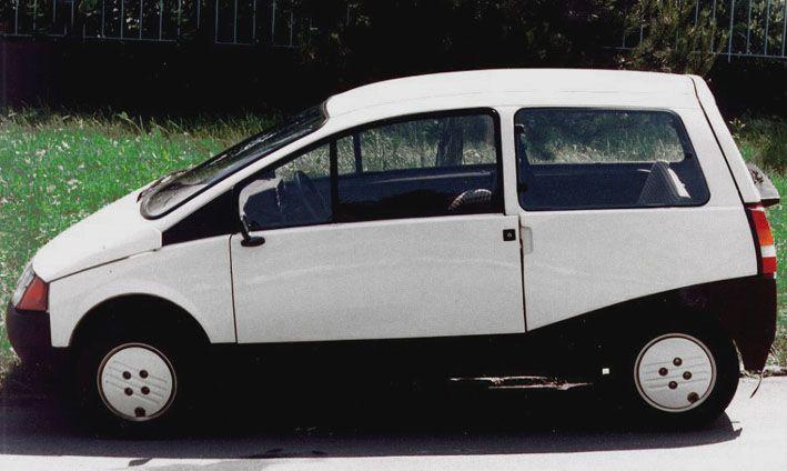 Beskid. Dopiero potem było Renault Twingo.