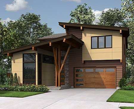 17 best images about modern house plans on pinterest for Modern house plans under 2500 square feet