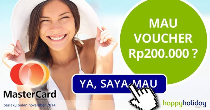 book now, checkin later ^_^  Find your holidays with us and get special rates + cashback 200k  http://www.happyholiday.travel/mastercard/