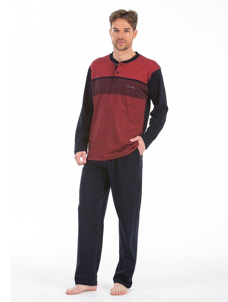 Pierre Cardin 5401 Erkek Pijama Takım   Mark-ha.com #markhacom #hediye #pierrecardin #erkekmodası #pijama #stylish #fashion #newseason #yenisezon #trend #moda