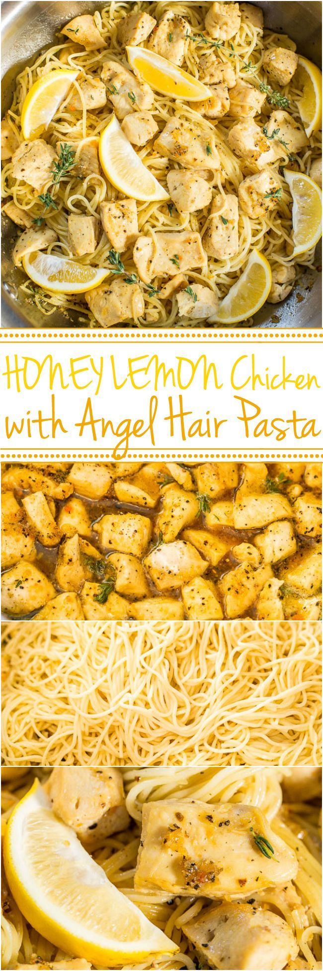 chrome hearts wallet chain Honey Lemon Chicken with Angel Hair Pasta   Easy  ready in 20 minutes  and you  39 ll love the tangy sweet flavor   A healthy weeknight dinner for those busy nights