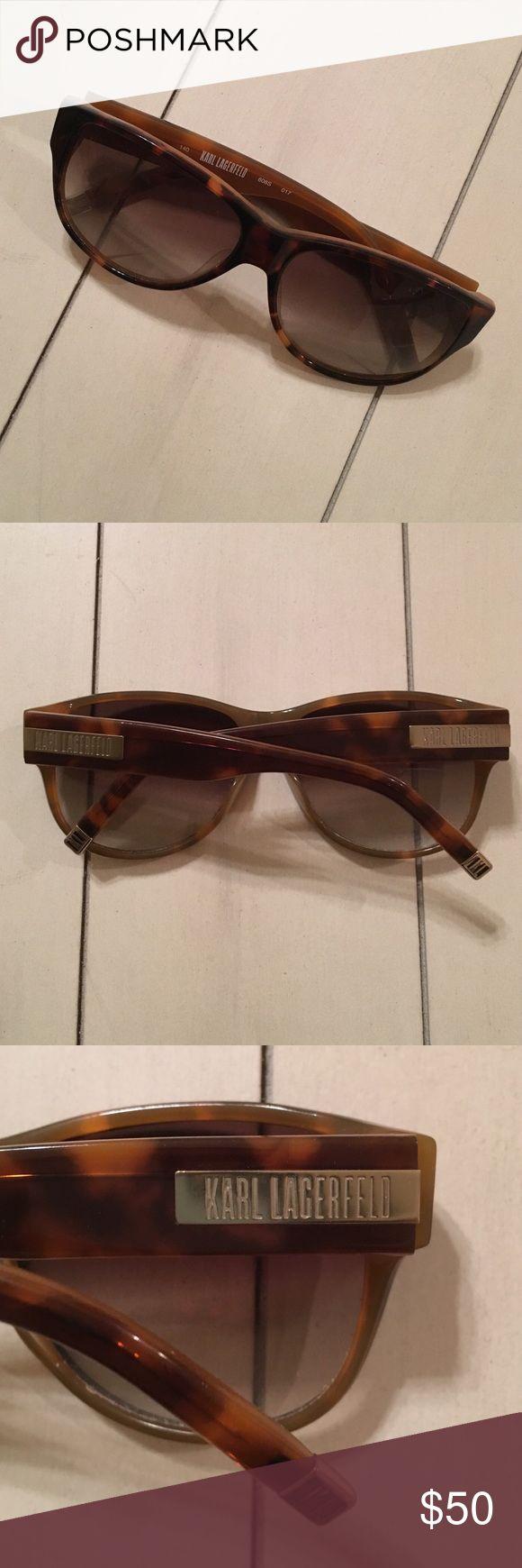Karl Lagerfeld tortoise shell sunglasses Karl Lagerfeld tortoise shell sunglasses Karl Lagerfeld Accessories Sunglasses