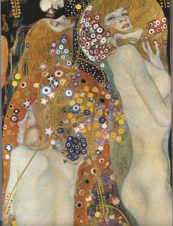 Water Snake by Klimt