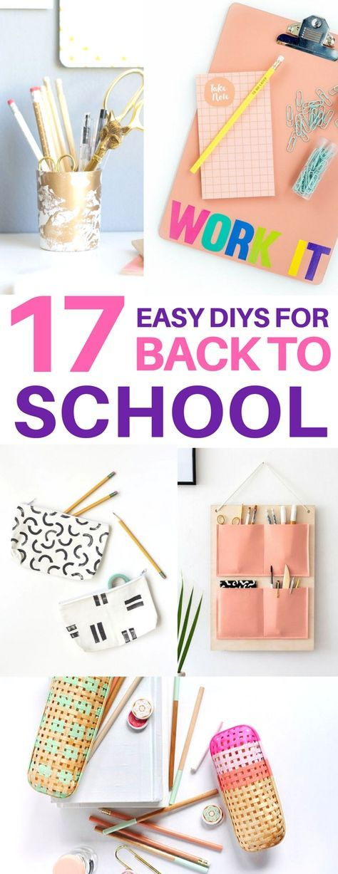 Totally copying these diy back to school supplies! diy school supplies, diy office, diy pencil cup, diy organizer, organization ideas, school organization, office organization, office ideas, desk organization