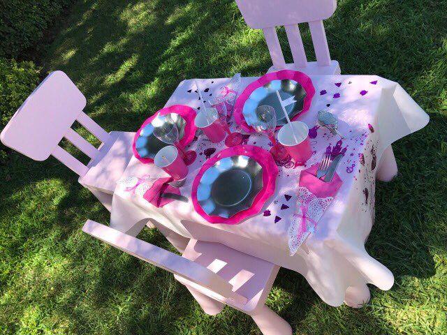 Детский стол на день рождения принцессы. Оформление праздников Канны Монако 0643568447