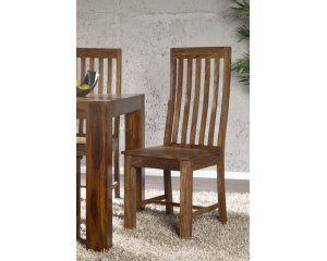 Krzesło z drewna sheesham - i17763