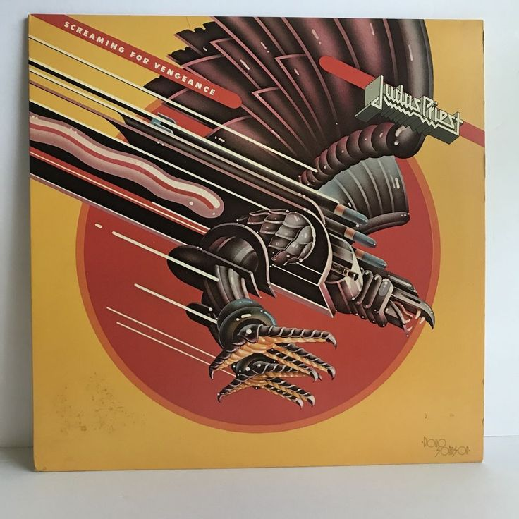 Judas Priest Screaming For Vengeance LP 1982 Columbia FC 38160   Music, Records   eBay!