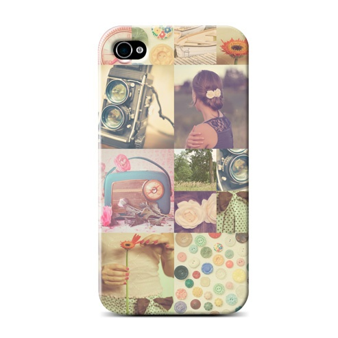 Coque iPhone 4 / 4S cupcake - by your instagram