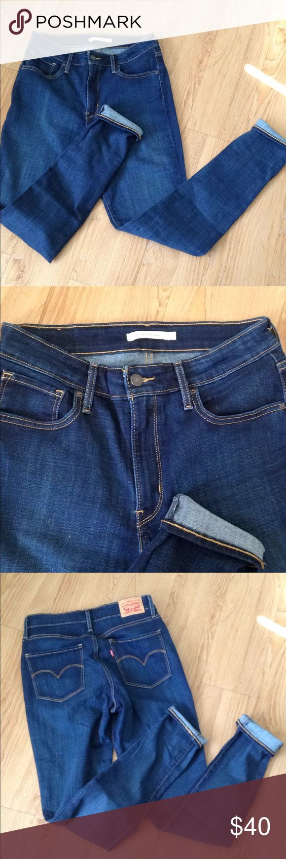 """Levi's 721 High Rise Women's Skinny Denim Jeans ✨reasonable offers are ALWAYS accepted through the offer button below, NO LOWBALLS, please👇🏻  •size 31 x 32"""" inseam. high rise & stretchy. •brand is Levi's •condition is NWT! tags were removed, but jeans have never been worn •smoke free & pet free home  ⛔️SORRY, NO TRADES Levi's Jeans Skinny"""