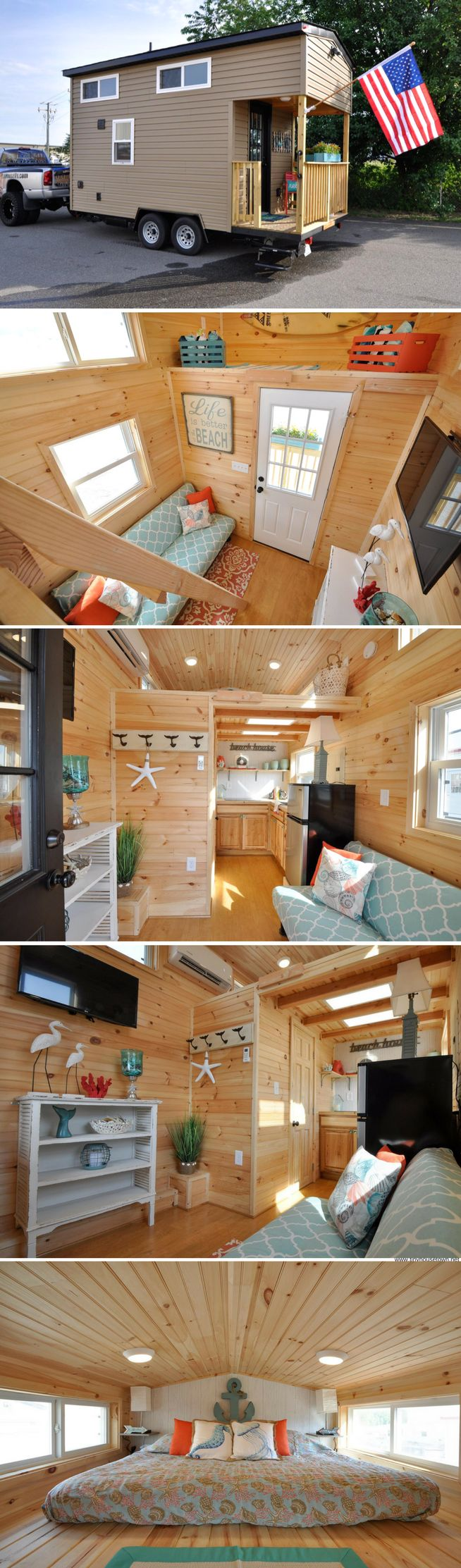 The Harbor House from Tiny House Building Company
