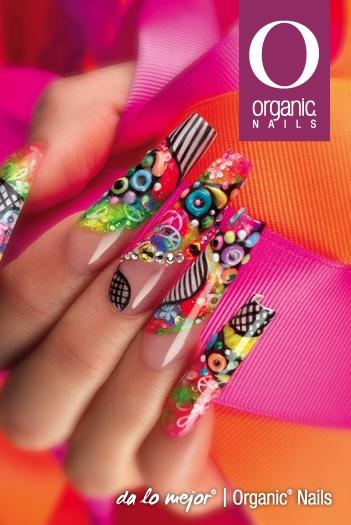 Oel arte del diseño con productos organic nails