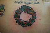 Right after I got this tat! It's Quetzacoatl!
