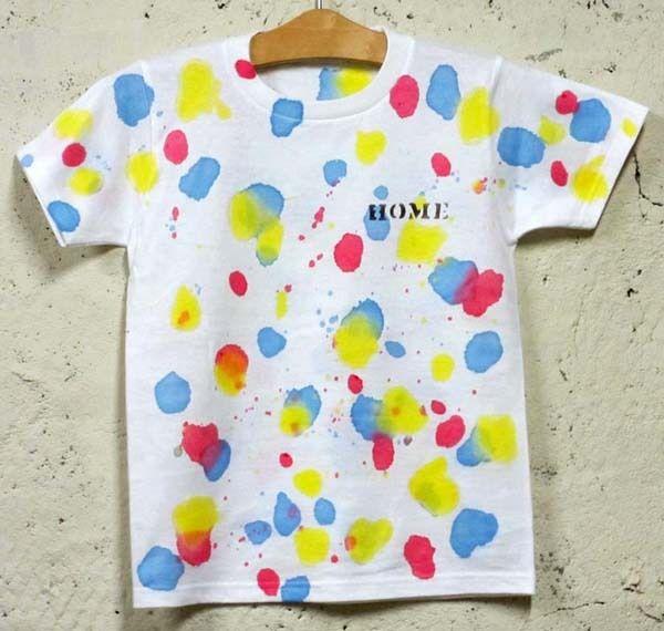 自作Tシャツ便利技5選!の画像 | 布用の絵の具で「絵の具セット」ならクラフトワークスKyoto