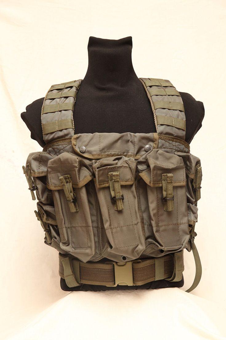 Tactical assault vest chest rig Lazutchik scout Russian army spetsnaz SPOSN SSO Molle