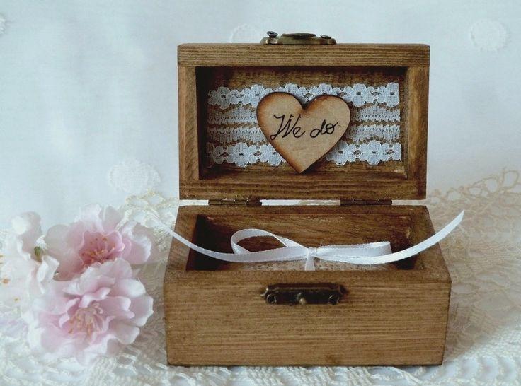 Hochzeits Ringträger, Ringkiste, Herzen  Produkte