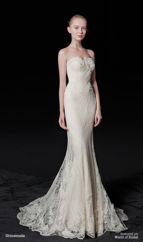 1000 images about wedding dresses on pinterest sheath for Beautiful fitted wedding dresses