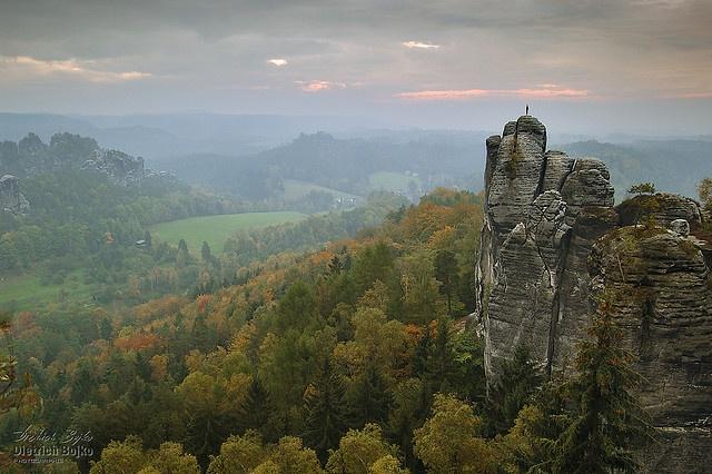 Outstanding Rocks Nationalpark Sächsische Schweiz, Elbsandsteingebirge, Sachsen, Germany