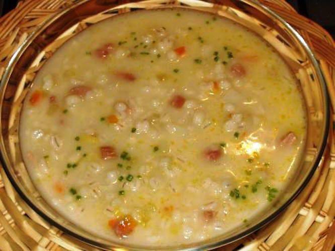 Zuppa d'orzo alla tridentina