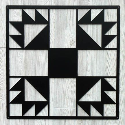 Metal Barn quilt- I think I might need one of these...