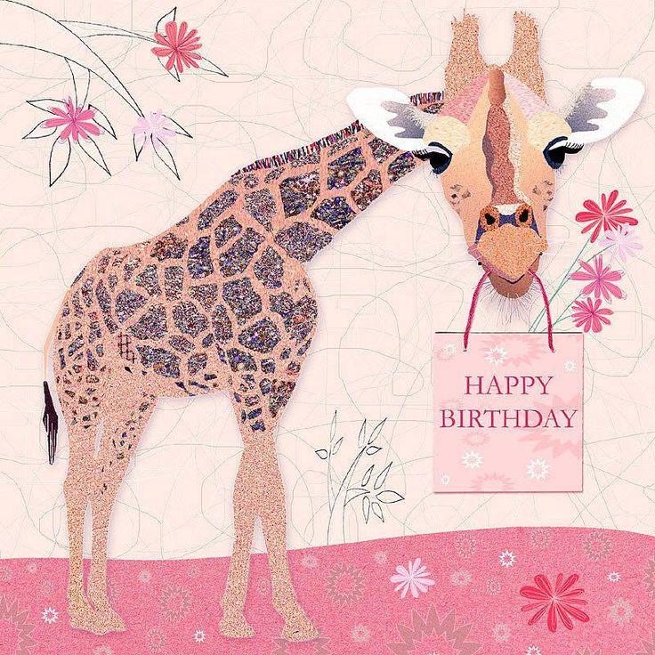 happy birthday giraffe