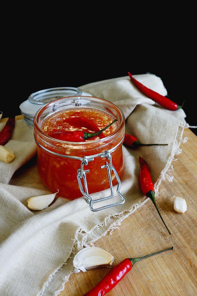 Вкусные рецепты: Тайский ананасовый чили соус
