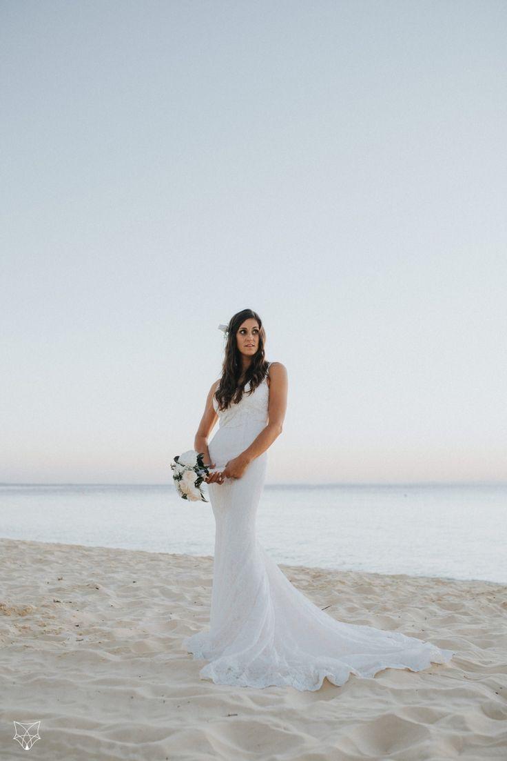 Kasia + Rick   Tangalooma beach wedding   White Fox Studios