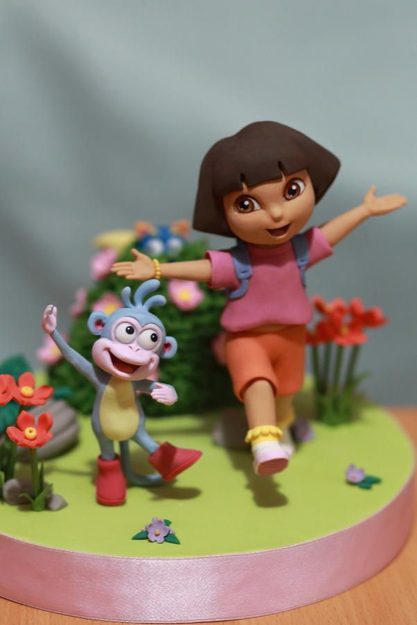 Dora the explorer by Cesare Corsini