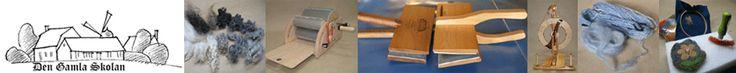 Webbshop med MÅNGA olika ulltyper, olika färg, form, tvättad, otvättad. Ligger utanför Dalby (Skåne) där de har affär. Även kurser som rör ull (spinna, tova, mm.)