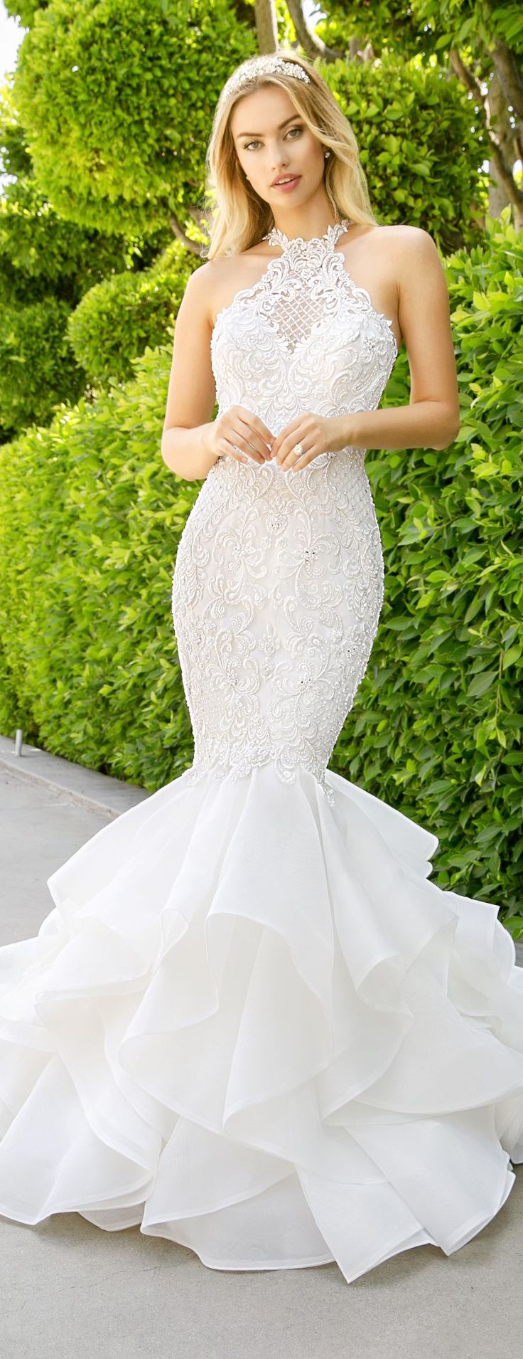 Lace wedding dress open back say yes dress october 2018  best Michigan Weddings images on Pinterest  Backyard weddings