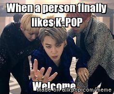 New K-POP fans