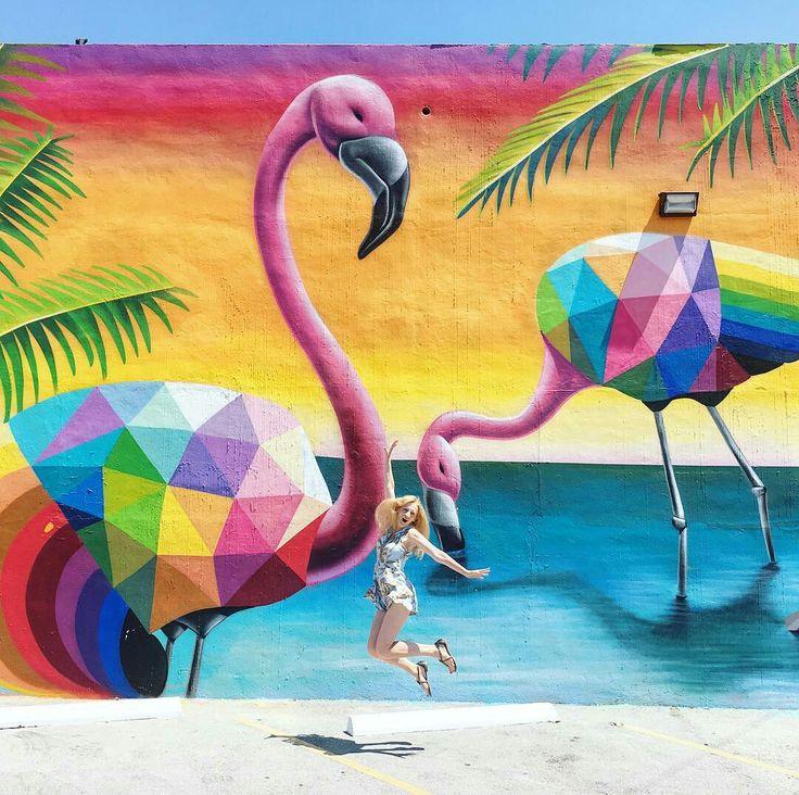 Wynwood Art District Miami FL by Grezeva Travel #miami #florida #miamibeach #sobe #southbeach #brickell #wynwood