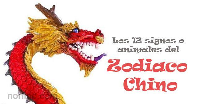 Características de cada animal o signo del zodiaco chino