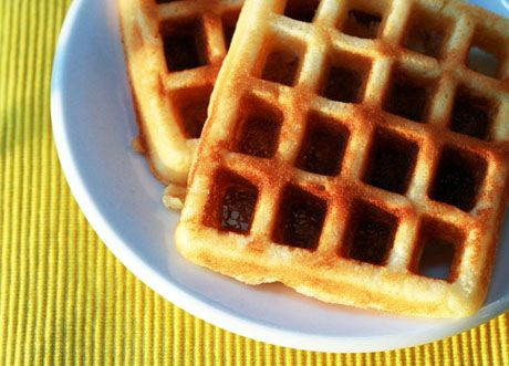 Lemon Yogurt Waffles | Foodies-breads | Pinterest
