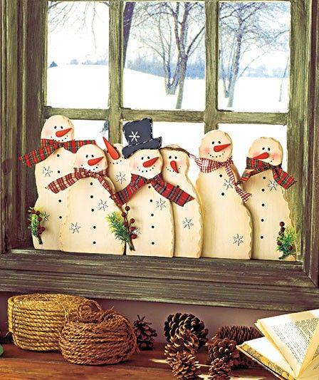 Snowmen Please visit, Like Shop our Facebook Page https://www.facebook.com/RusticFarmhouseDecor