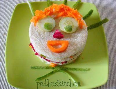 Vegetable Sandwich Recipe