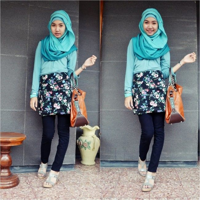 awesome DIY Trendy Hijab Outfits for Formal Wear