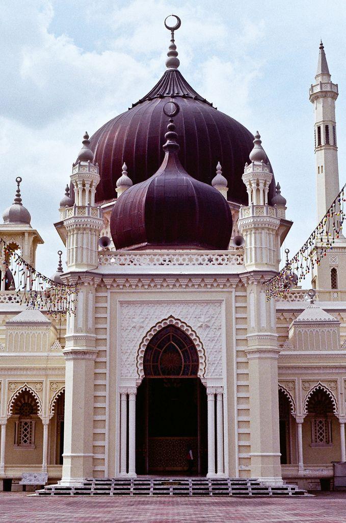 masjid zahir, kedah, malaysia | islamic architecture                                                                                                                                                                                 More