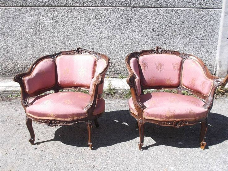 Victorian Chairs Italian Antiques Two Antique 14it048e
