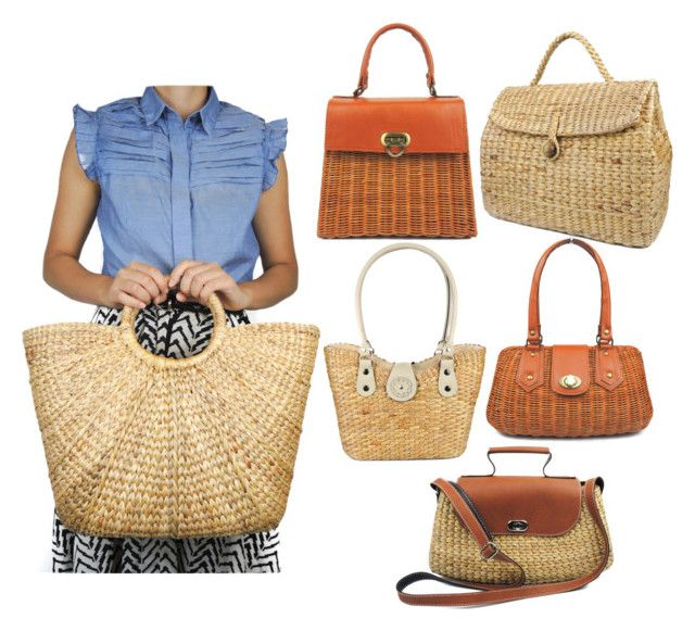 Wicker Tote by wickertote on Polyvore
