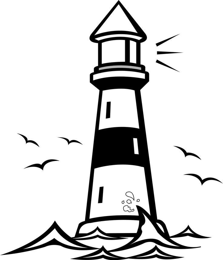 Lighthouse Vector Clip Art