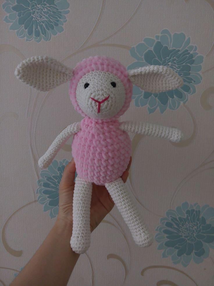 amigurumi, örgü oyuncak, pattern, crochet, tığişi, sheep, koyun