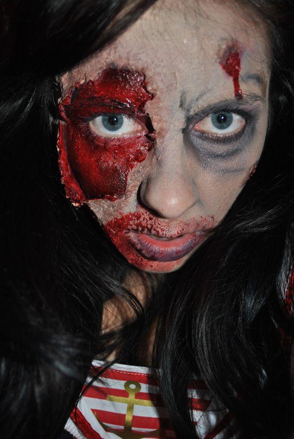 64 best Zombie Makeup Ideas images on Pinterest | Zombie makeup ...