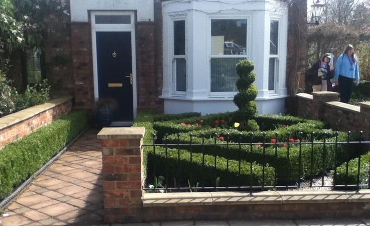 Garden Design Enfield : Manor gardens front enfield designs courtyards design