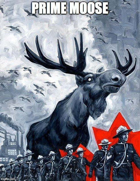 Does Canada even have a president or is it just whichever moose has the strongest antlers they elect a P.M. a Prime Moose