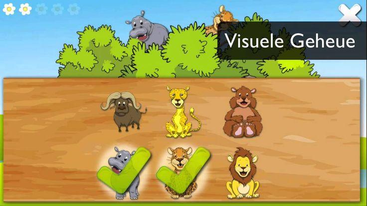 Baie oulike afrikaanse geheue speletjie met 3 verskillende geheue aktiwiteite.