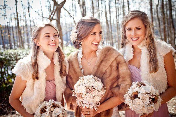 Southern wedding - winter wedding ideas